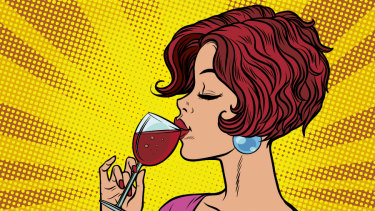 The wine industry targets women as a growth market.