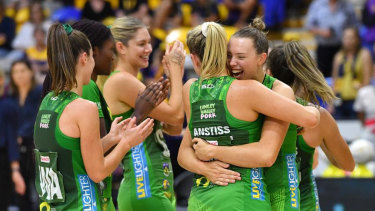 West Coast Fever are grand final-bound following Sunday's big win.