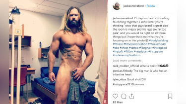 One Nation candidate Jackson Wreford in the WA seat of Canning has taken a novel approach to his social media presence.