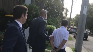 Former Leighton executive Russell Waugh was arrested in Brisbane on alleged bribery charges involving Unaoil.
