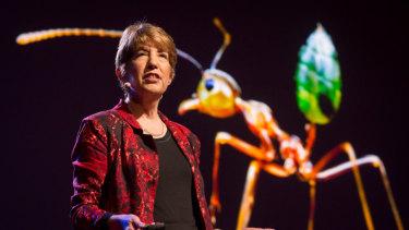 Professor Marlene Zuk.