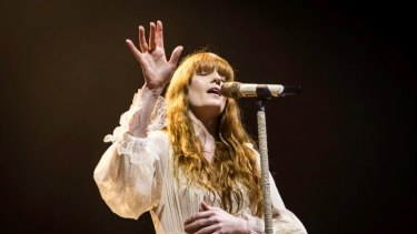 Florence Welch wowed a packed RAC Arena Saturday night.