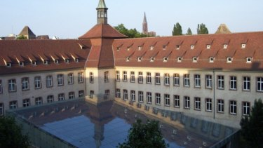 The Strasbourg campus of the Ecole Nationale d'Administration - the ENA - Emmanuel Macron 's alma mater.