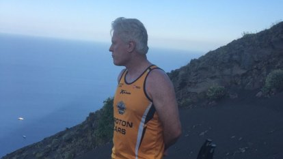 Former Waratahs coach narrowly escapes volcanic eruption