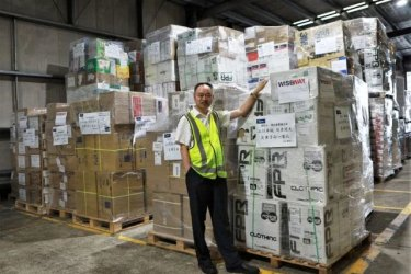 Sydney-basedKuangYuanpin, a former Chinese military officer with a shipment of critical medical equipment going to China.