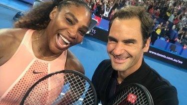 Roger Federer and Serena Williams.