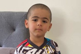 Anthony 'AJ' Elfalak, 3, was last seen at his home in Putty on Friday.