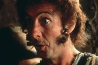 Eric Idle, co-writer of <i>Not The Messiah</i>, in <i>Monty Python's Life of Brian</i>.