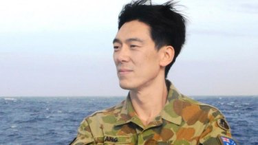 WA Labor MLC Pierre Yang on deployment on a Chinese vessel during the search for MH370.