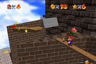 Rich prize: <i>Super Mario 64</i>.