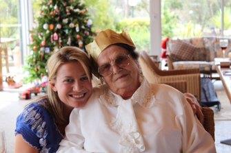 Kara and her grandmother Lucy.