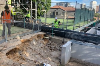 Serious defects have been found in TheAcre apartmentcomplex on Cooper Park Road in Bellevue Hill.
