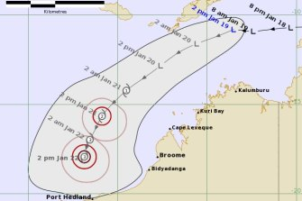 A low off the coast of northern Australia is expected to strengthen to a tropical cyclone by Thursday.