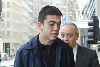 Faruk Orman outside court in 2004.