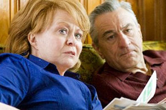 Jacki Weaver and Robert De Niro in Silver Linings Playbook which attracted her second Oscar nomination.