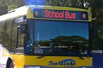 Surfside School Bus on the Gold Coast
