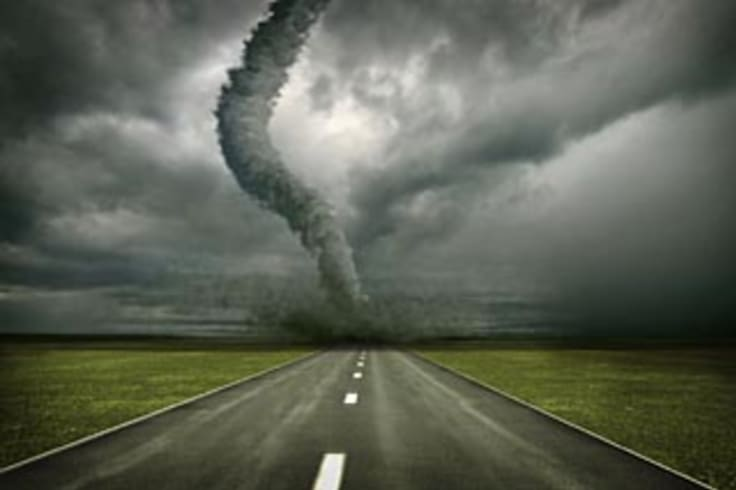 Storms ahead ... volatility in the sharemarket has made it heavy going for our racers.
