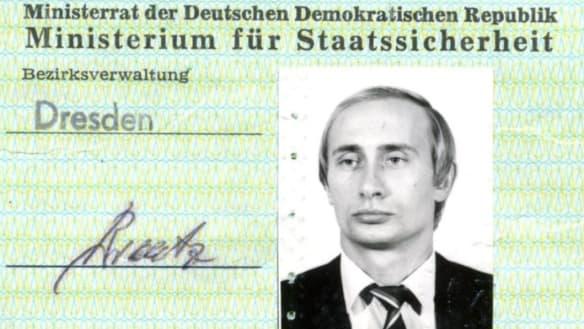 Vladimir Putin's Stasi identity card discovered in German archives