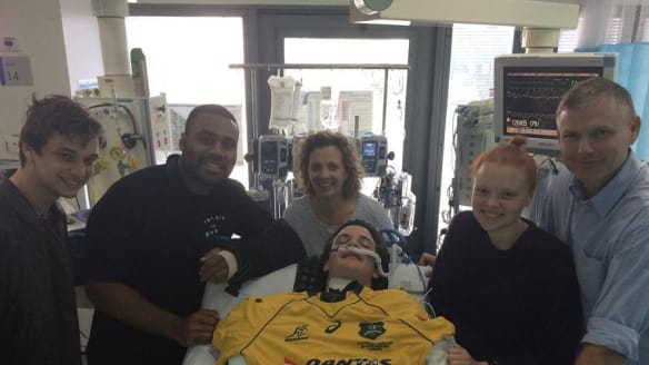 Brisbane schoolboys injured playing rugby on track to recovery