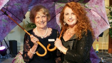 Lady Musgrave Trust president Patricia McCormack (left) and chief executive Karen Lyon Reid.
