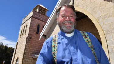 Mandurah Anglican parish priest Ian Mabey has accused Canning MP Andrew Hastie of political interference, a charge the high-profile MP rejects.