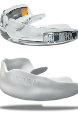 The Nexus A9 mouthguard.