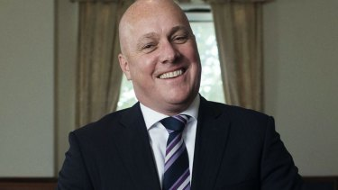 Air New Zealand chief executive Christopher Luxon.