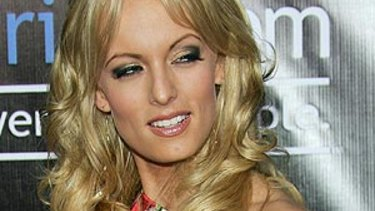 Adult film star Stormy Daniels received a $130,000 payment from Donald Trump's lawyer.