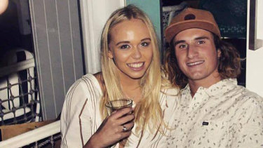 Tahlee De Clouett and Baxter Woodger were seriously injured.