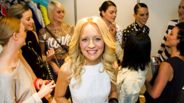 Carrie Bickmore has two children already: son Oliver and daughter Evie.