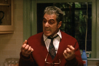 Al Pacino in Francis Ford Coppola's The Godfather III.