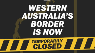 WA's border has been closed since April 5, with around