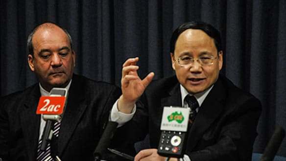 Disgraced MP held Parliament press conference to promote Chinese propaganda on Tibet