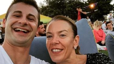 Melissa Caddick with husband Anthony Koletti.