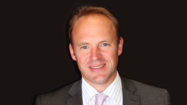 New Trinity Grammar principal Adrian Farrer