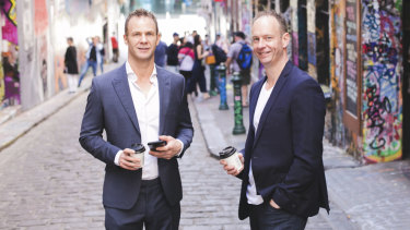 Jeremy (left) and Marty Rowell are the founders of The Cup Exchange.