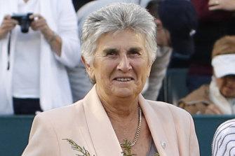 Australian great Judy Dalton.