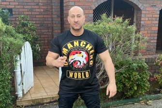 National sergeant-at-arms of the Comanchero bikie gang, Tarek Zahed, contracted the virus.