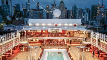 On board one of Silversea Cruises' luxury ships.