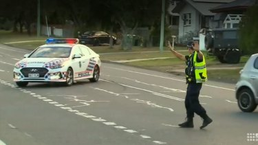 A toddler was hit by a truck at Brassall, near Ipswich, on July 3.