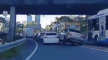 The driver has been charged and was denied bail to appear in the Brisbane Magistrates Court on Saturday.