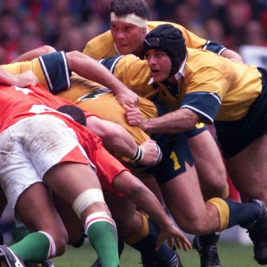 Australia v Wales, 1999 Rugby World Cup.