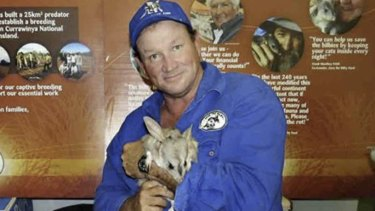 Kevin Bradley, chief executive officer of the Save the Bilby Foundation.
