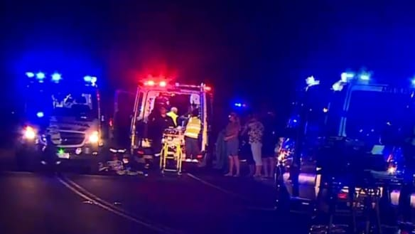 Woman gives birth after two-car crash