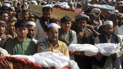 Taliban agrees not to bomb schools and hospitals in fragile deal