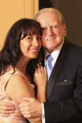 Fred Nile and his wife Silvana.
