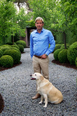 Landscape architect and gardener Paul Bangay.