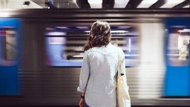 Caitlin Ferguson, 24, said she felt nervous taking public transport at night.