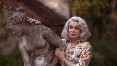 Catherine Deneuve plays a fading matriarch in French director Julie Bertuccelli's Claire Darling.