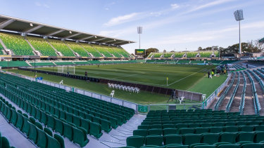 The state government is suing BGC Construction over a major redevelopment of then-nib Stadium